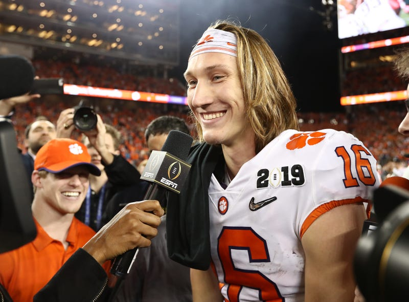 Trevor Lawrence led the Clemson Tigers to a National Title in his true freshman year.
