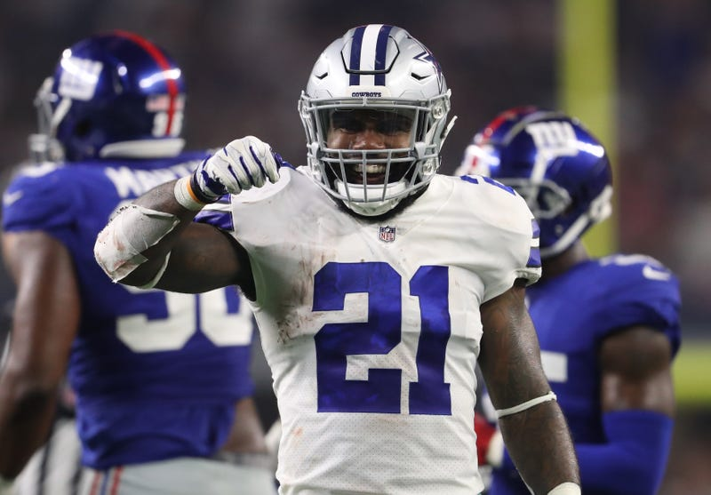 Ezekiel Elliott will play in Week 1 after signing a new contract with the Cowboys.