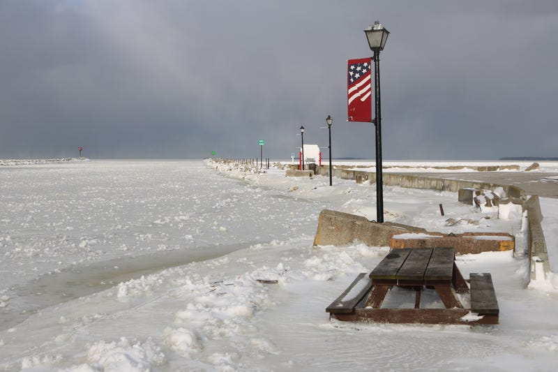 10 were rescued off a not so frozen Lake Erie yesterday.