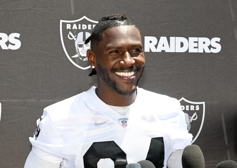 Antonio Brown was traded to the Raiders from the Steelers.