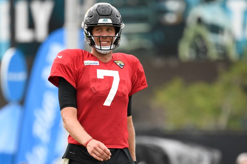 Former Super Bowl MVP Nick Foles is the Jaguars new starting quarterback.