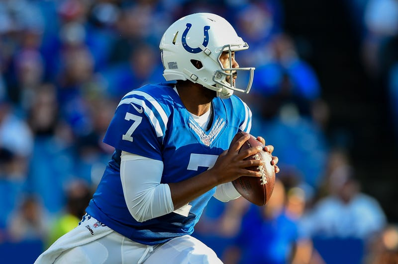 Jacoby Brissett is taking over for Andrew Luck as the Colts starting quarterback.
