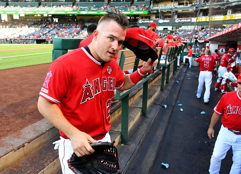 Mike Trout is on pace to win another American League MVP Award.