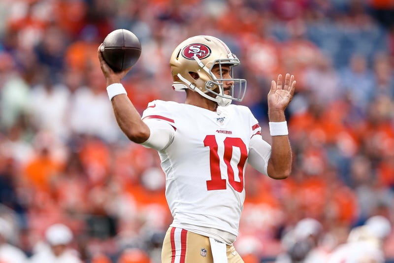 Jimmy Garoppolo had a poor showing in his return from an ACL injury.