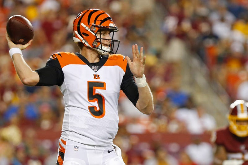 Ryan Finley will make his starting debut for the Bengals in Week 10.
