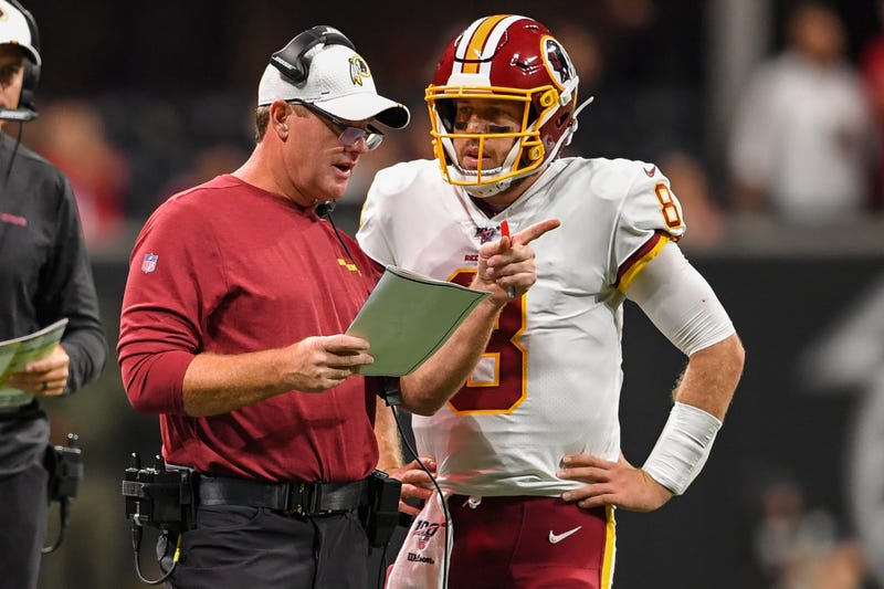 Jay Gruden tabbed Case Keenum as the Redskins starter to open the 2019 season.
