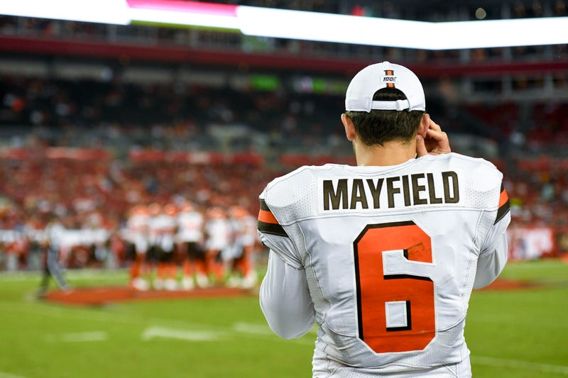 Baker Mayfield and the Browns will travel to New Jersey in Week 2.