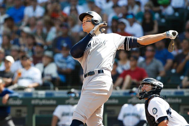 Yankees slugger Aaron Judge.