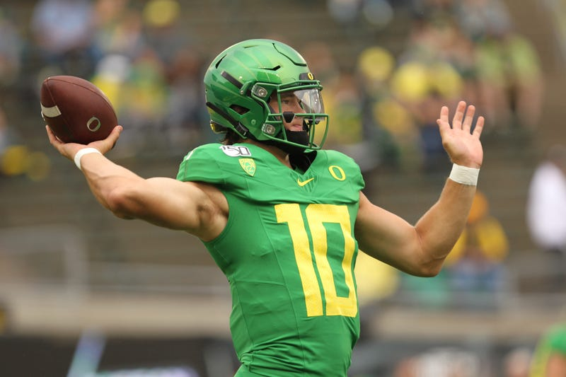 Justin Herbert could replace Jameis Winston in Tampa Bay.