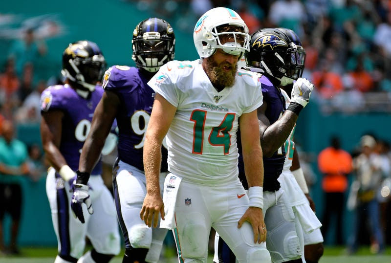 Ryan Fitzpatrick and the Dolphins took a beating in Week 1.