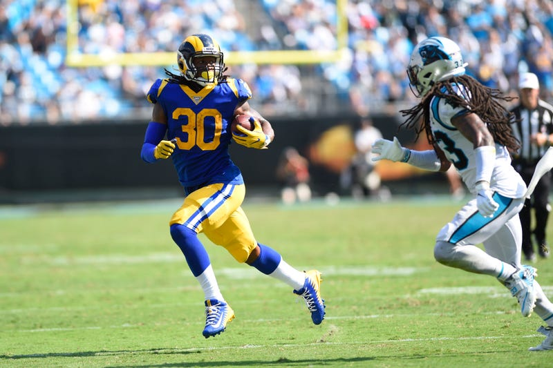 Todd Gurley ran for 97 yards in Week 1.
