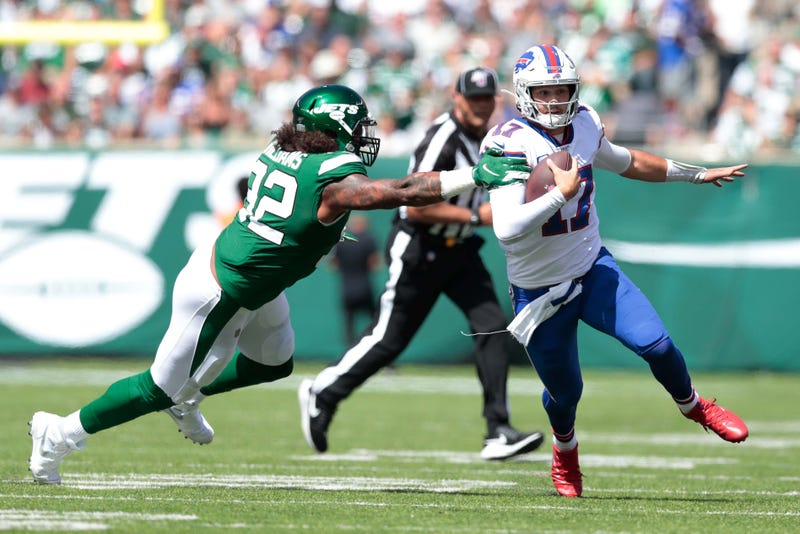 Josh Allen and the Bills narrowly escaped Week 1 with a victory.