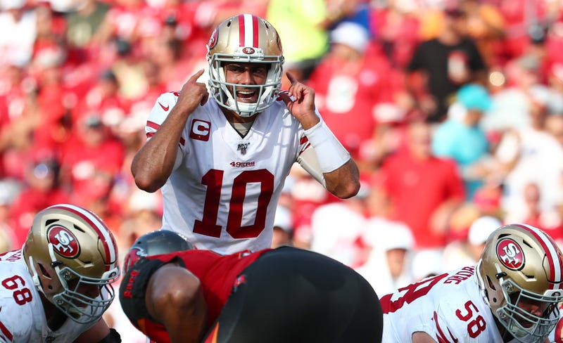 Jimmy Garoppolo and the 49ers have won two straight games.