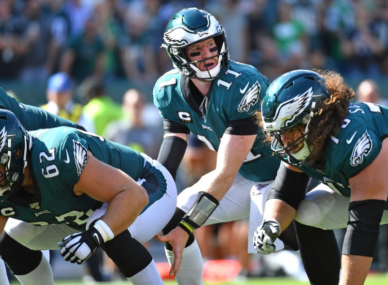 Carson Wentz and a banged up Eagles team will host the Lions in Week 3.