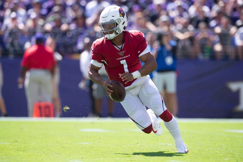 Kyler Murray has shown poise in his first two NFL starts.