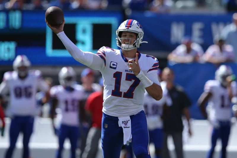 Josh Allen and the Bills are off to a 2-0 start.
