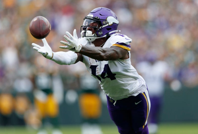 Stefon Diggs and the Vikings fell short in their comeback attempt against the Packers.