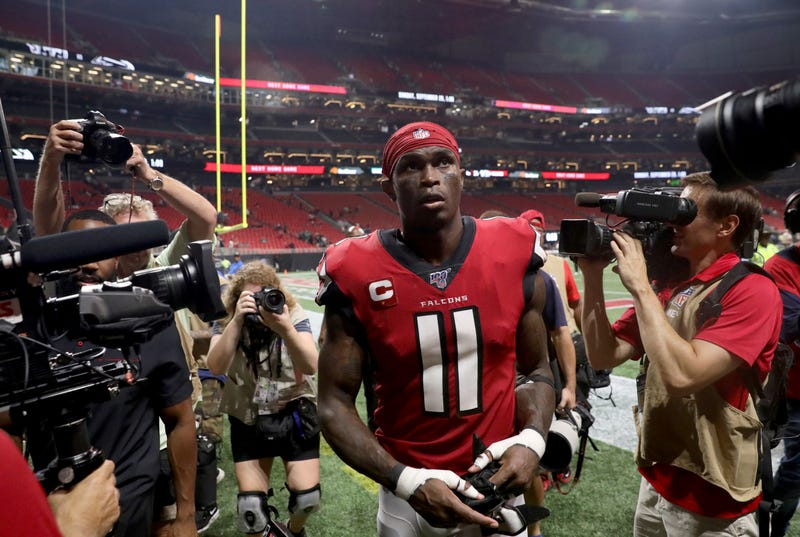 Julio Jones and the Falcons have floundered in 2019.