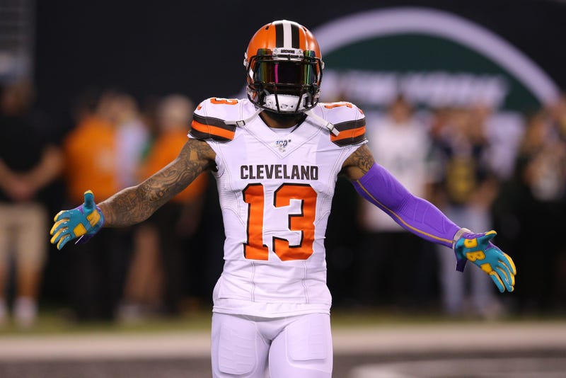 Odell Beckham Jr. is in his first season with the Browns.