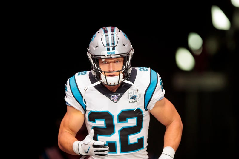 Christian McCaffrey and the Panthers will look for their third consecutive victory.