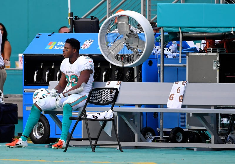 Kenyan Drake and the Dolphins haven't won a game in 2019.