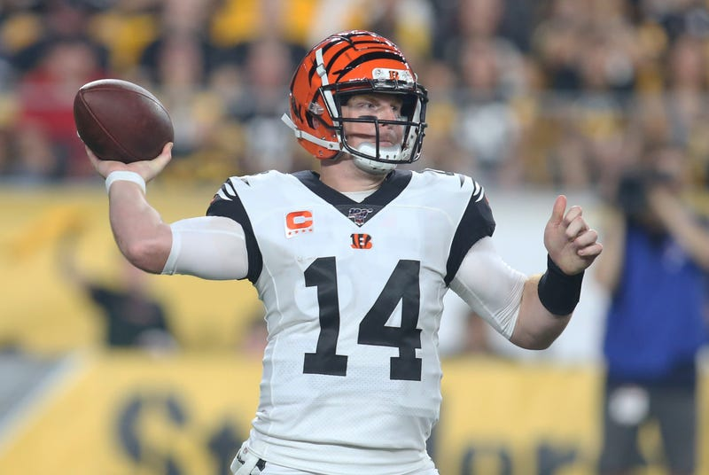 Andy Dalton and the Bengals are looking for their first win.