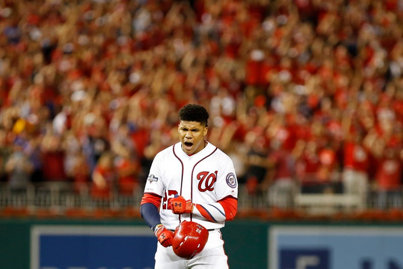 Juan Soto and the Nationals will be tasked with knocking off the Dodgers in the NLDS.
