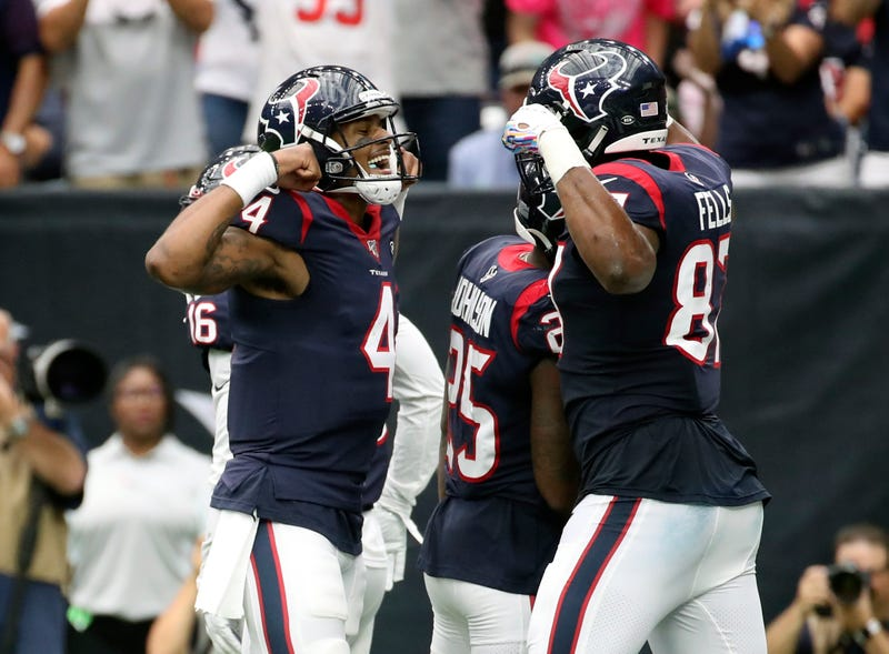 Deshaun Watson and the Texans scored over 50 points in a Week 5 win.