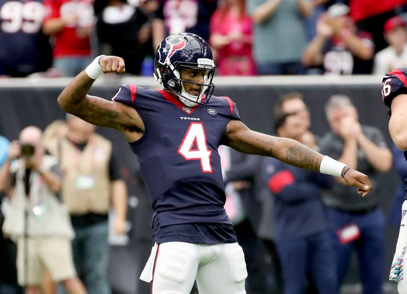 Deshaun Watson and the Texans are scorching-hot offensively.