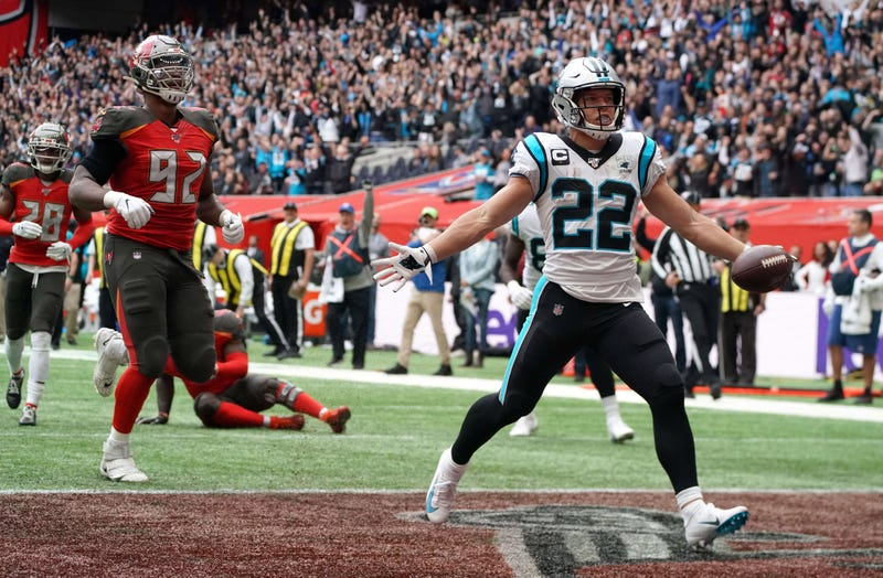 Christian McCaffrey and the Panthers have won four straight games.