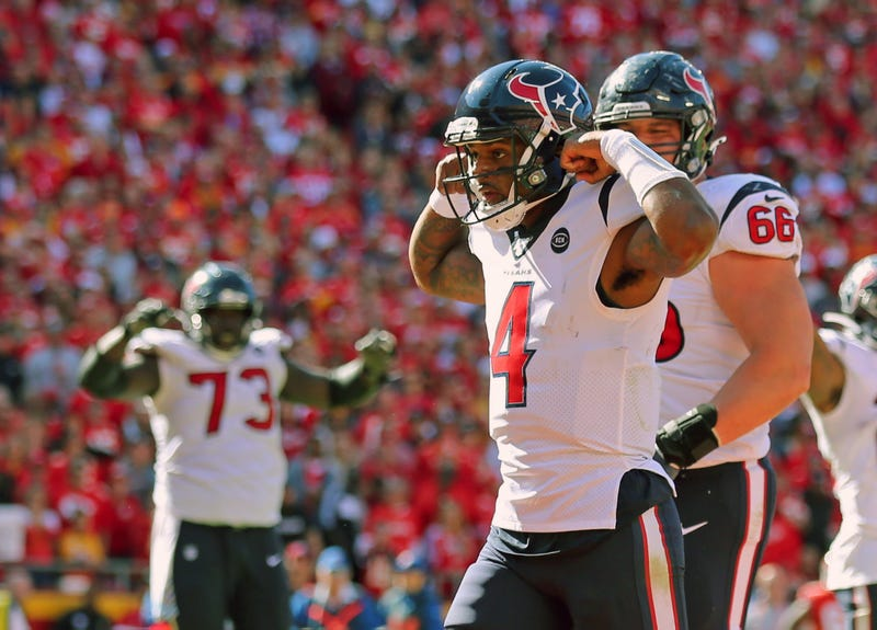 Deshaun Watson and the Texans won in Kansas City in Week 6.