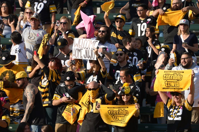 Steelers fans made a home game for the Chargers feel like an away game.