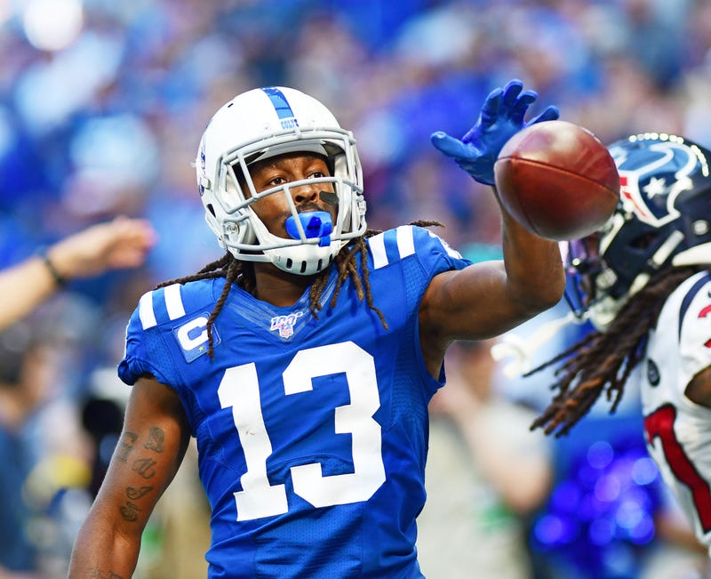 T.Y. Hilton and the Colts lead the AFC South.