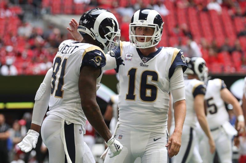The Rams are returning from their bye week.