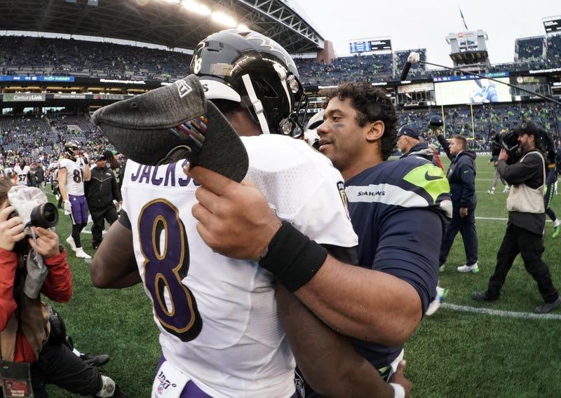 Russell Wilson and Lamar Jackson