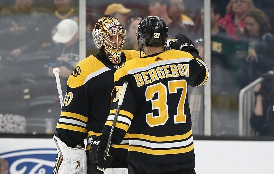 Patrice Bergeron, David Pastrnak, Tuukka Rask well regarded by peers in NHLPA player poll