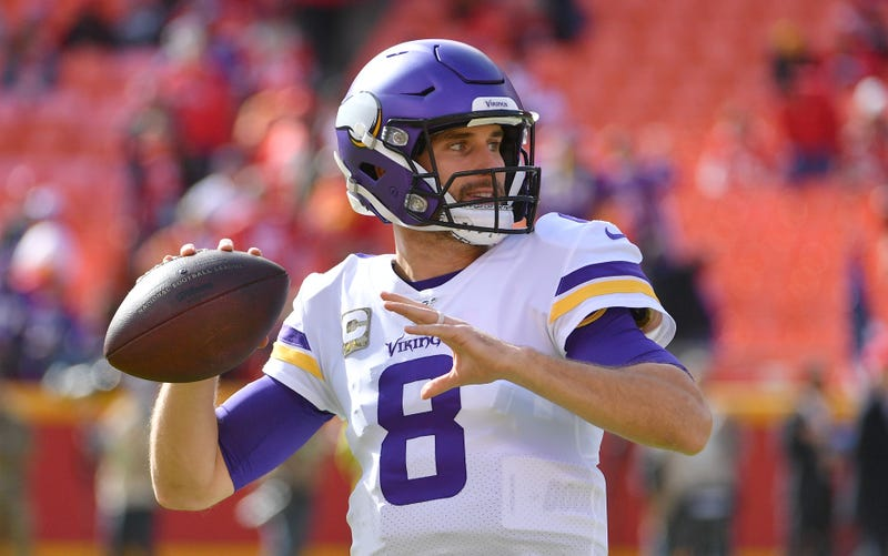 Kirk Cousins and the Vikings had their winning-streak snapped in Week 9.