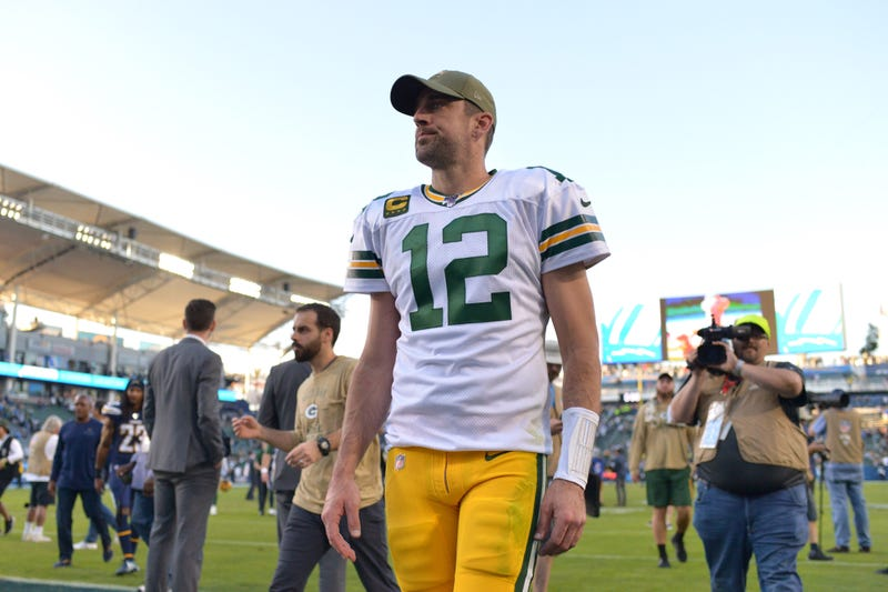 Aaron Rodgers and the Packers suffered a surprise loss to the Los Angeles Chargers in Week 9.