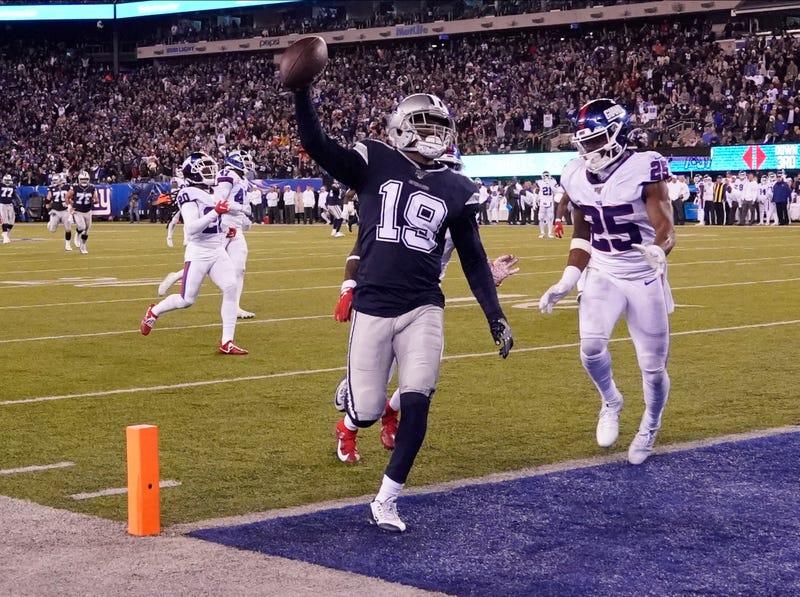 Amari Cooper had a touchdown on Monday Night Football.