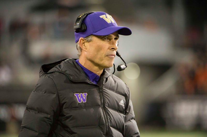 Former Washington head coach Chris Petersen.