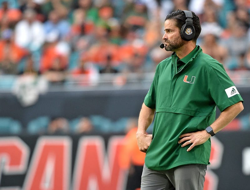 UM Head Coach Manny Diaz