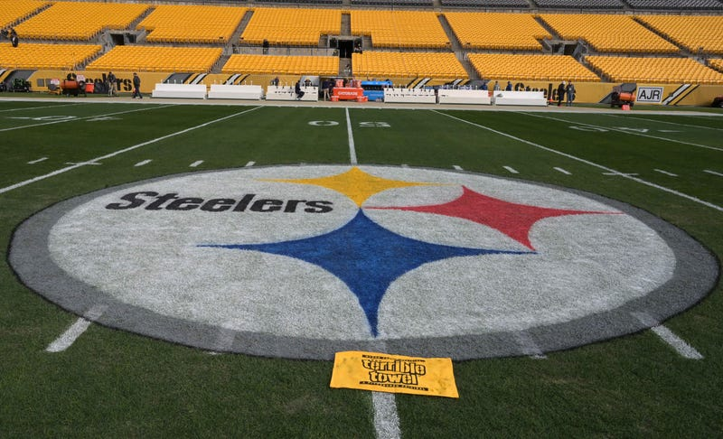 50 yard line at Heinz Field