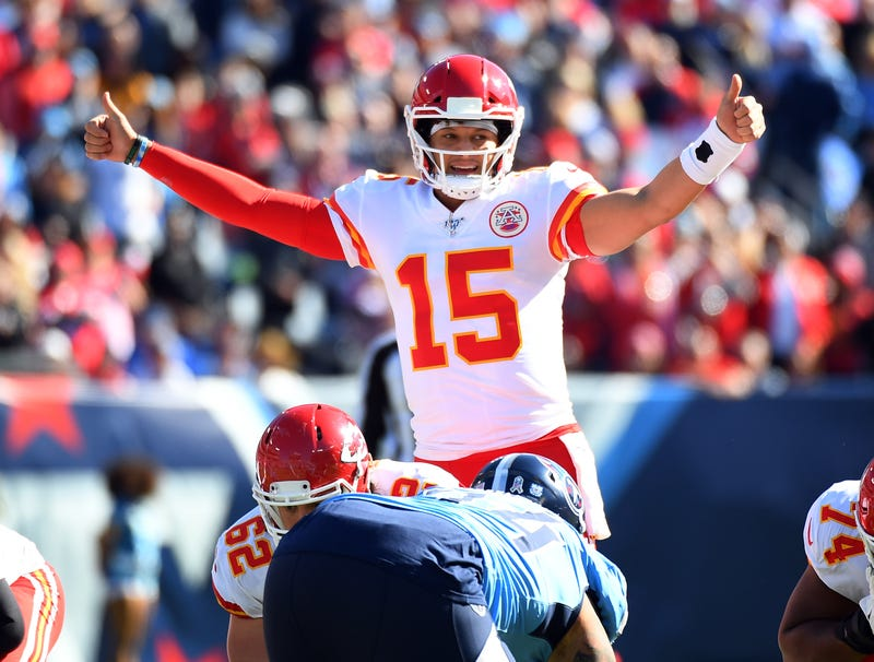 Patrick Mahomes and the Chiefs were on their bye week in Week 12.