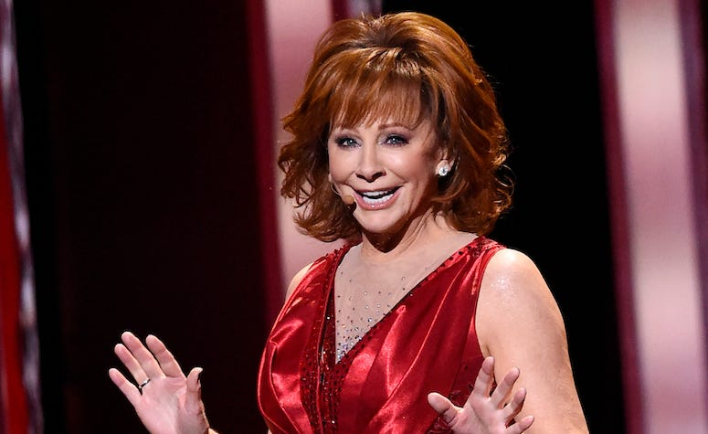 Reba McEntire on stage during the 53rd Country Music Association Award