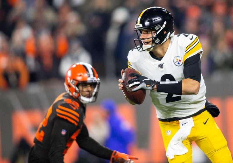 Mason Rudolph and the Steelers lost in Week 11.