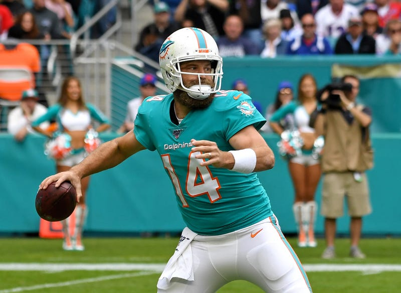 Ryan Fitzpatrick and the Dolphins lost in Week 11.