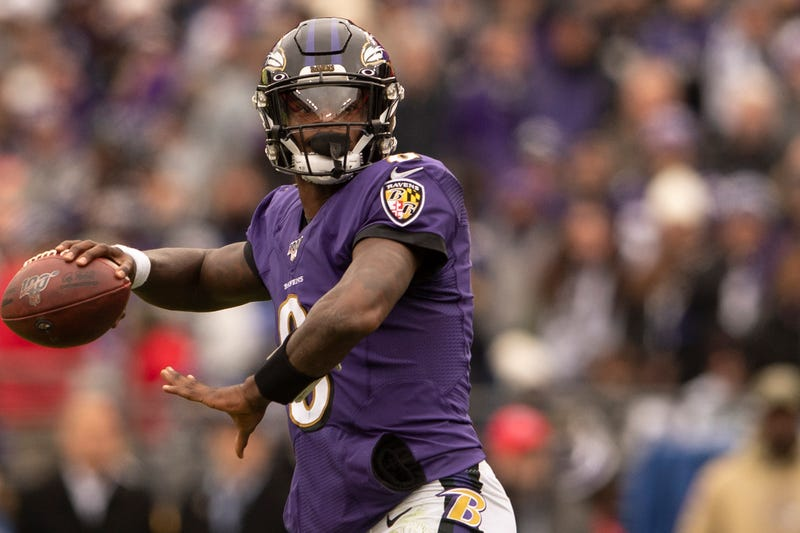 Lamar Jackson is an NFL MVP candidate.