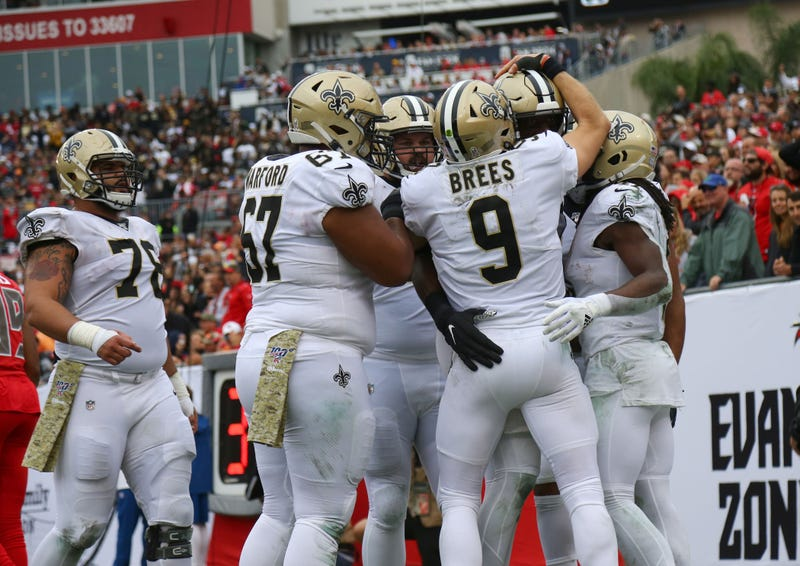 The Saints rebounded for a victory in Week 11.