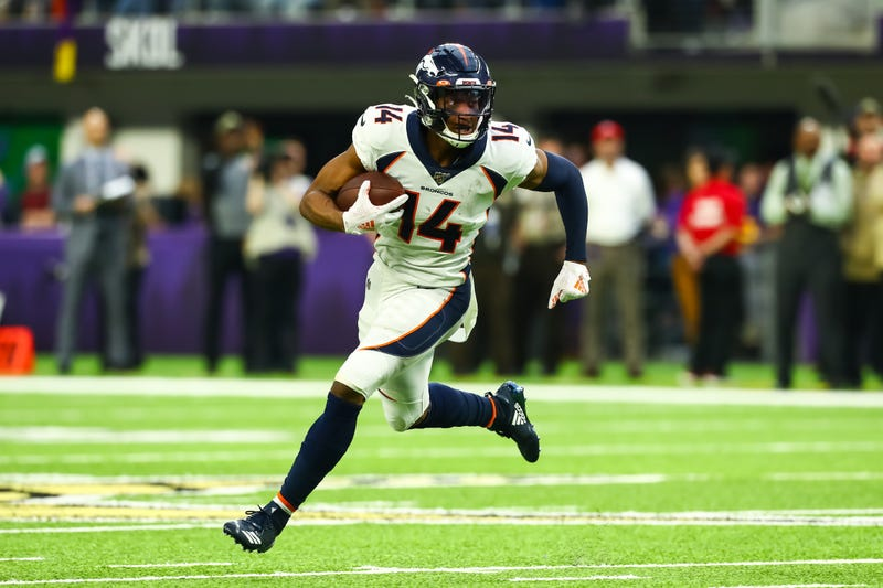 Despite another big game from Courtland Sutton, the Broncos blew a big lead in Minnesota.