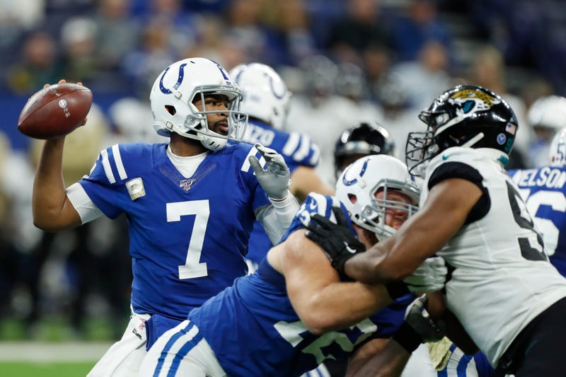 Jacoby Brissett led the Colts to a win in his return.